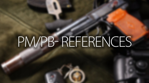 PM/PB - Guns References