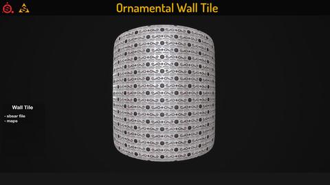 Ornamental Wall Tile