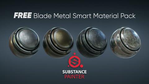 FREE Blade Metal Smart Material 4-Pack
