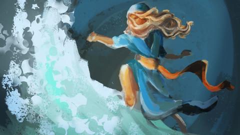"""Oceanic Priestess"""