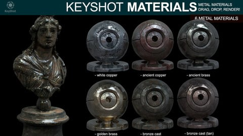 Metal Materials for Keyshot