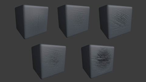 ZBRUSH 5 Realistic Wooden Pattern Displacement Alpha Maps Brushes/ Volume Set.1