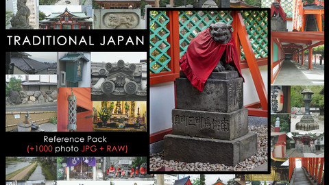 Ref Pack - Traditional Japanese Architecture and small towns