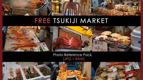 FREE Ref Pack - Tsukiji Market ( Japan)