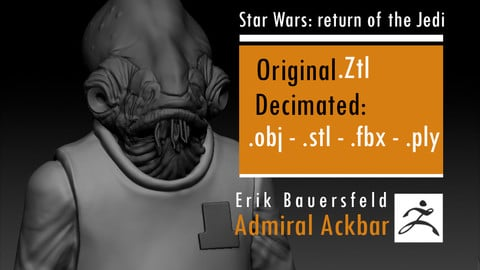 Erik Bauersfeld - Admiral Ackbar - Star Wars Return of the Jedi