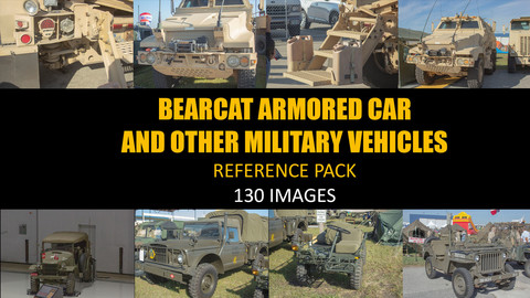 Bearcat & Other Military Vehicle Reference Pack