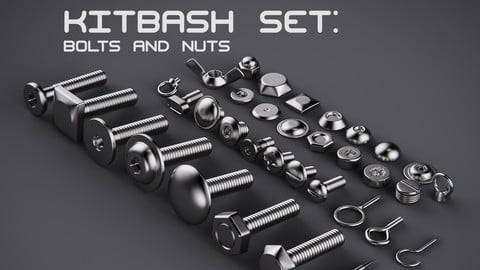 Bolts and Nuts asset pack