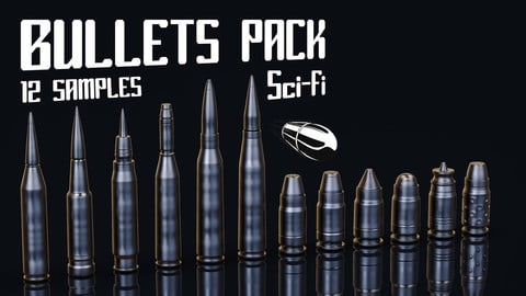 Bullets pack Sci Fi