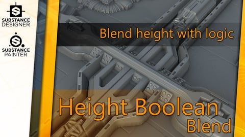 Height Boolean Blend