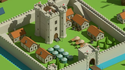SimplePoly Medieval - Low Poly Assets