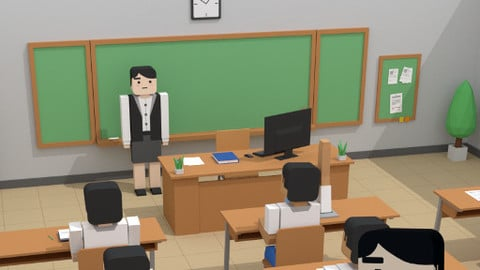 SimplePoly School Interiors - Low Poly Assets