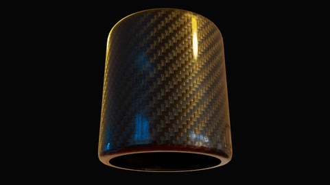 How to create carbon fiber material in substance designer - Substance material series 01