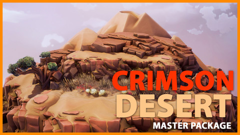 Crimson Desert Landscape - Full package UE4 and FBX