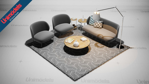 Unimodels Sofas and decoration Vol. 1