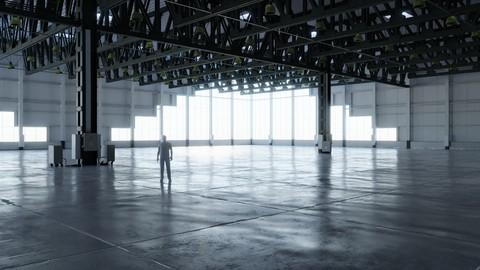 Warehouse Interior 4 - Textures