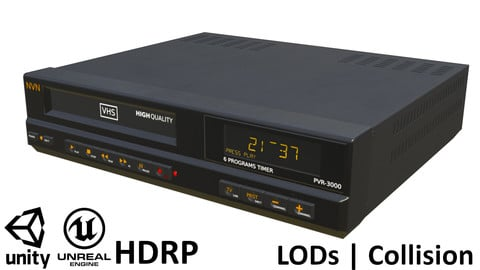 Game-ready VHS Recorder
