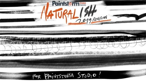 Naturalish FULL Brush Set for PAINTSTORM STUDIO