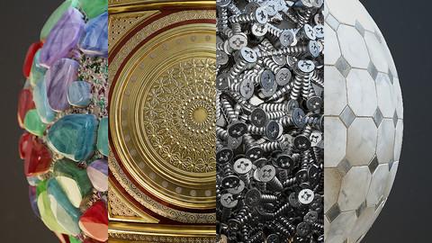 Nodevember 2019 - Substance Designer Materials Set
