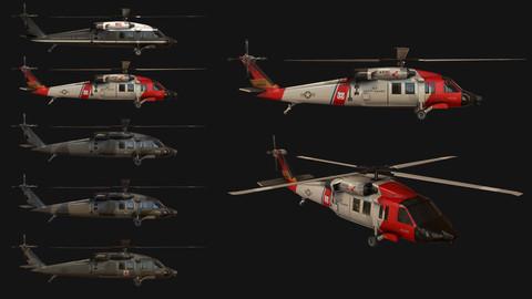 Helicopter UH60M Blackhawk