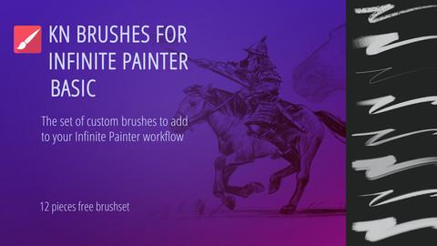 KN Brushes (for Infinite Painter) BASIC