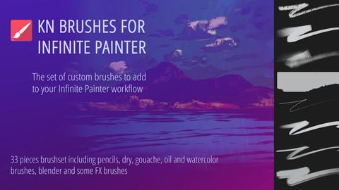 KN Brushes for Infinite Painter