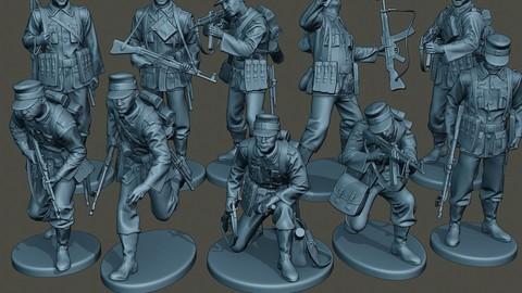 German soldiers ww2 G3 Pack1