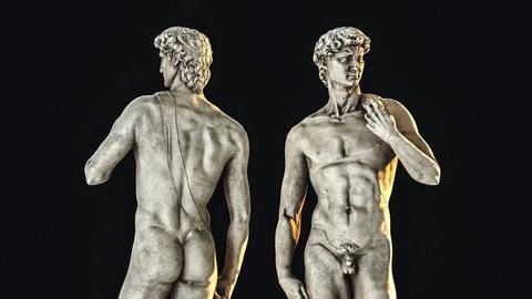 David / Sculpture / 3D model