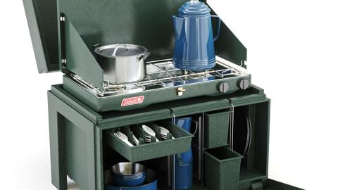 The Chuck Box Camp Kitchen  / 3D model