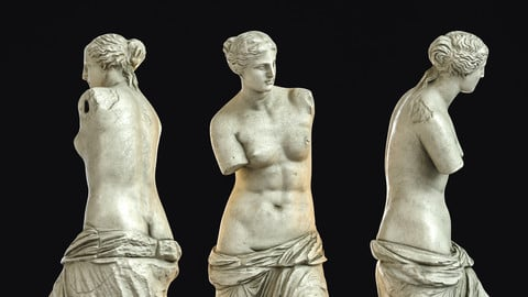 Venus de Milo / Sculpture / 3D model