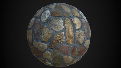 Stone Wall shader