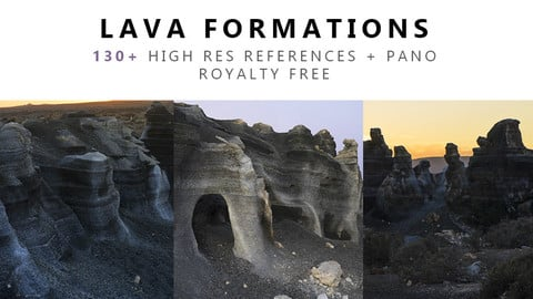 LAVA Formation Texture PACK