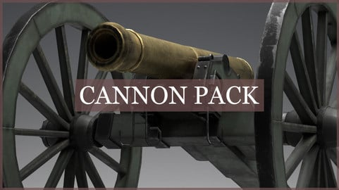 1835 Field Cannon Pack