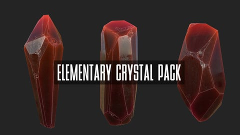Elementary Crystal Asset Pack