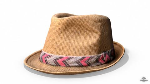 "Straw Hat ""Ibiza"" - Photoscanned PBR"