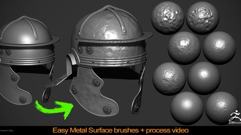 Easy Metal Surface Brushes pack