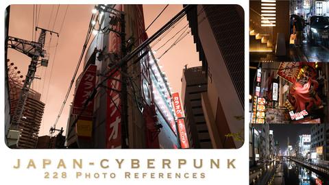 JAPAN - CYBERPUNK - 228 photo references