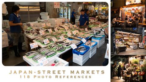 JAPAN - STREET MARKETS - 118 photo references