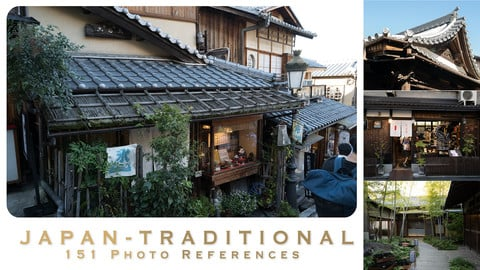JAPAN - TRADITIONAL - 151 photo references