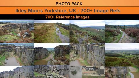 Ikley Moors Yorkshire, UK - 700+ Image Refs
