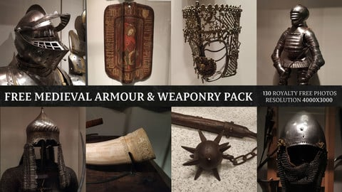 Free Medieval Armour & Weaponry Pack
