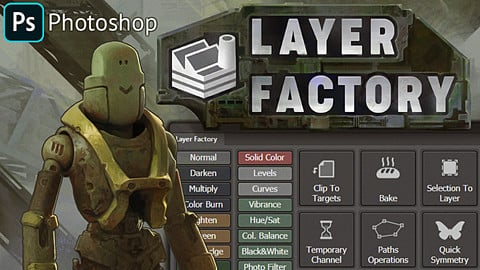Layer Factory for Photoshop CC!