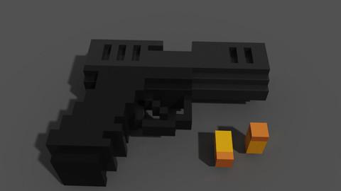 Voxel Gun Glock