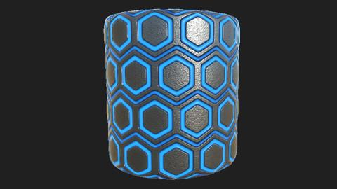 Emissive Hexagonal Tiles