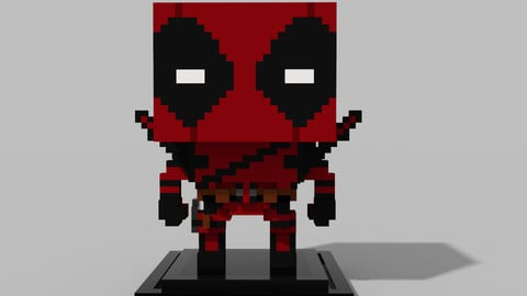 Voxel Deadpool