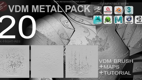 VDM - FULL METAL SURFACES PACK [20+MAPS]