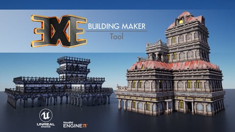 EXE Building Maker Tool For UE
