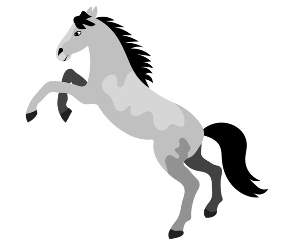 Decals Decal Horse 20 04310