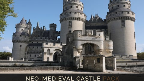 Neo-Medieval Castle
