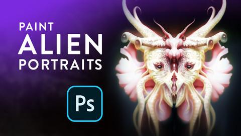 Alien Portraits – Concept Art Mini Course