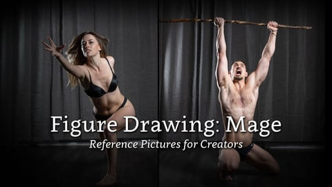 Figure Drawing: Mage - Reference Pictures for Creators